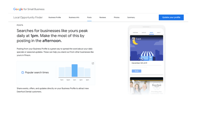 Google rolls out Local Opporutnity Finder to help businesses up their Local 32